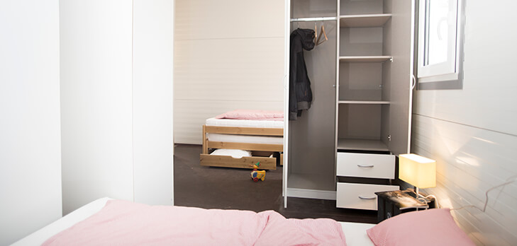 Residential Container - Bed & Wardrobe